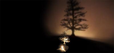Lumen shadow lamp